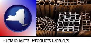 Buffalo, New York - metal pipes, studs, and tubes for sale