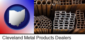 Cleveland, Ohio - metal pipes, studs, and tubes for sale